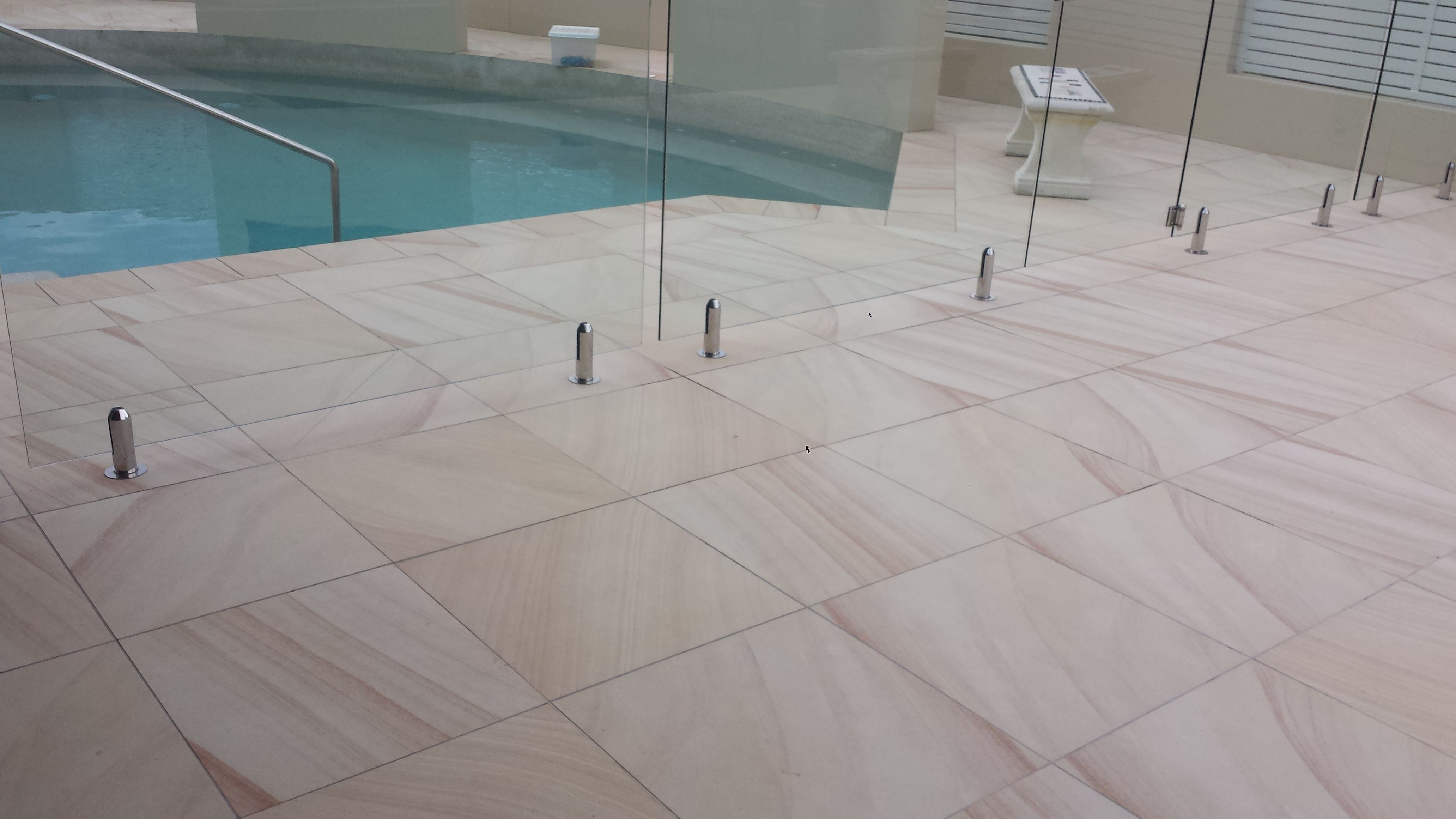 Sandstone Tiles Exterior Wall Tiles Size 60x240mm 100x297mm