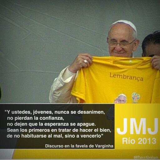 Discurso del Papa en la Favela Varginha III
