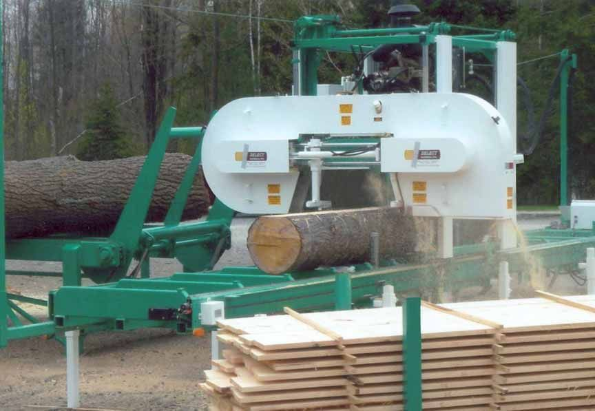 Harbor Freight Sawmill Blade : Select band saw mill log homes pinterest