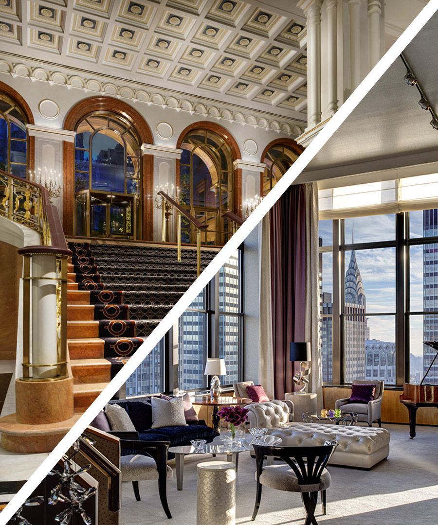 Room Request! Lotte New York Palace - DuJour in 2020   Palace hotel, Manhattan hotels, Downtown ...