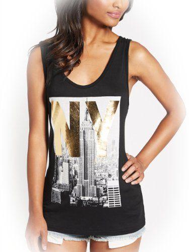 G by GUESS Women's Hilde City Tee, JET BLACK (LARGE) G by GUESS,http://www.amazon.com/dp/B00J9OBTQC/ref=cm_sw_r_pi_dp_CNcrtb1NN5B9DPZP