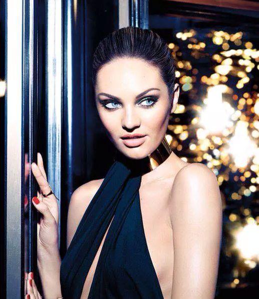 Candice Swanepoel Covers Vogue Brazil Magazine January 2014 http://www.lilouandrue.com