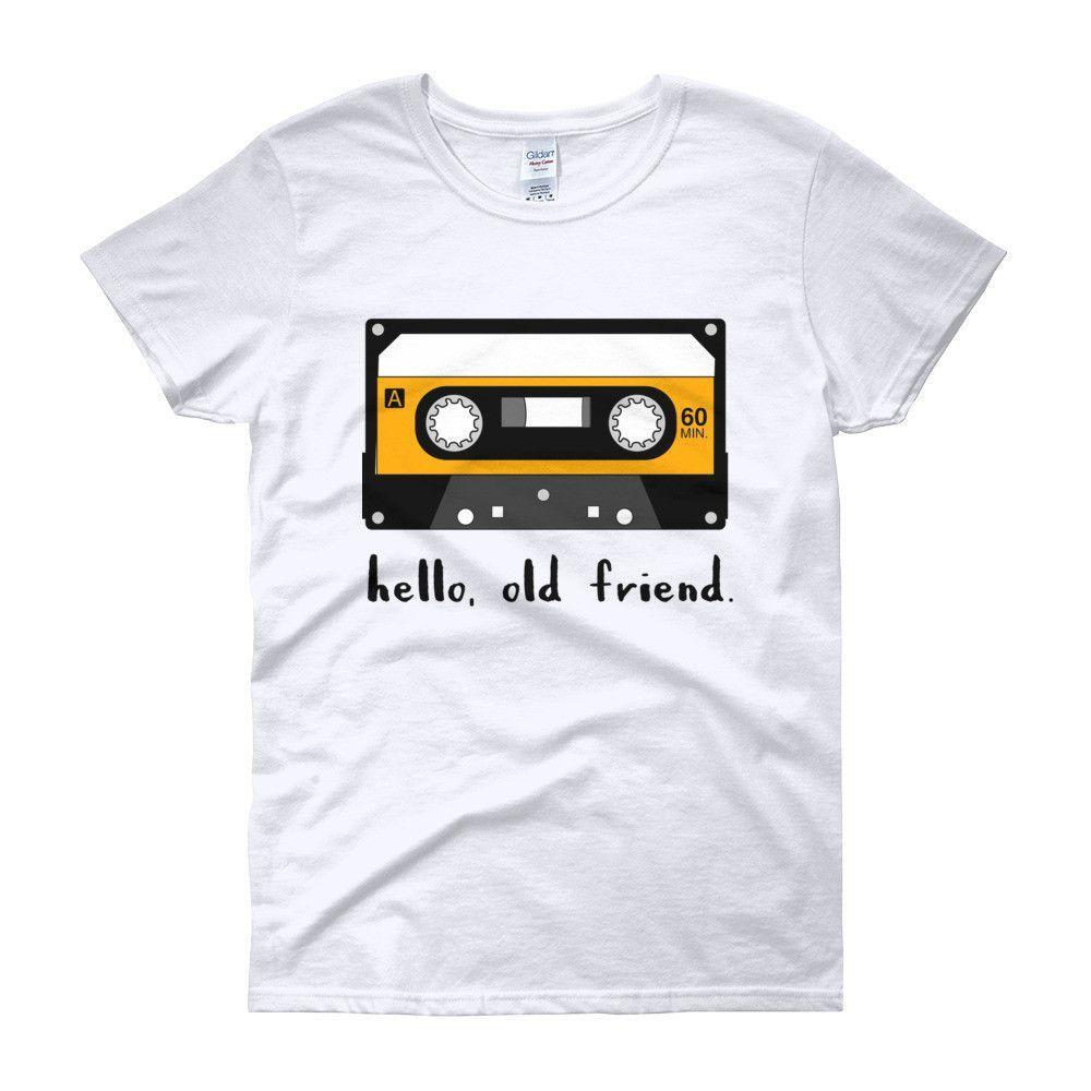 hello, old friend Women's short sleeve t-shirt