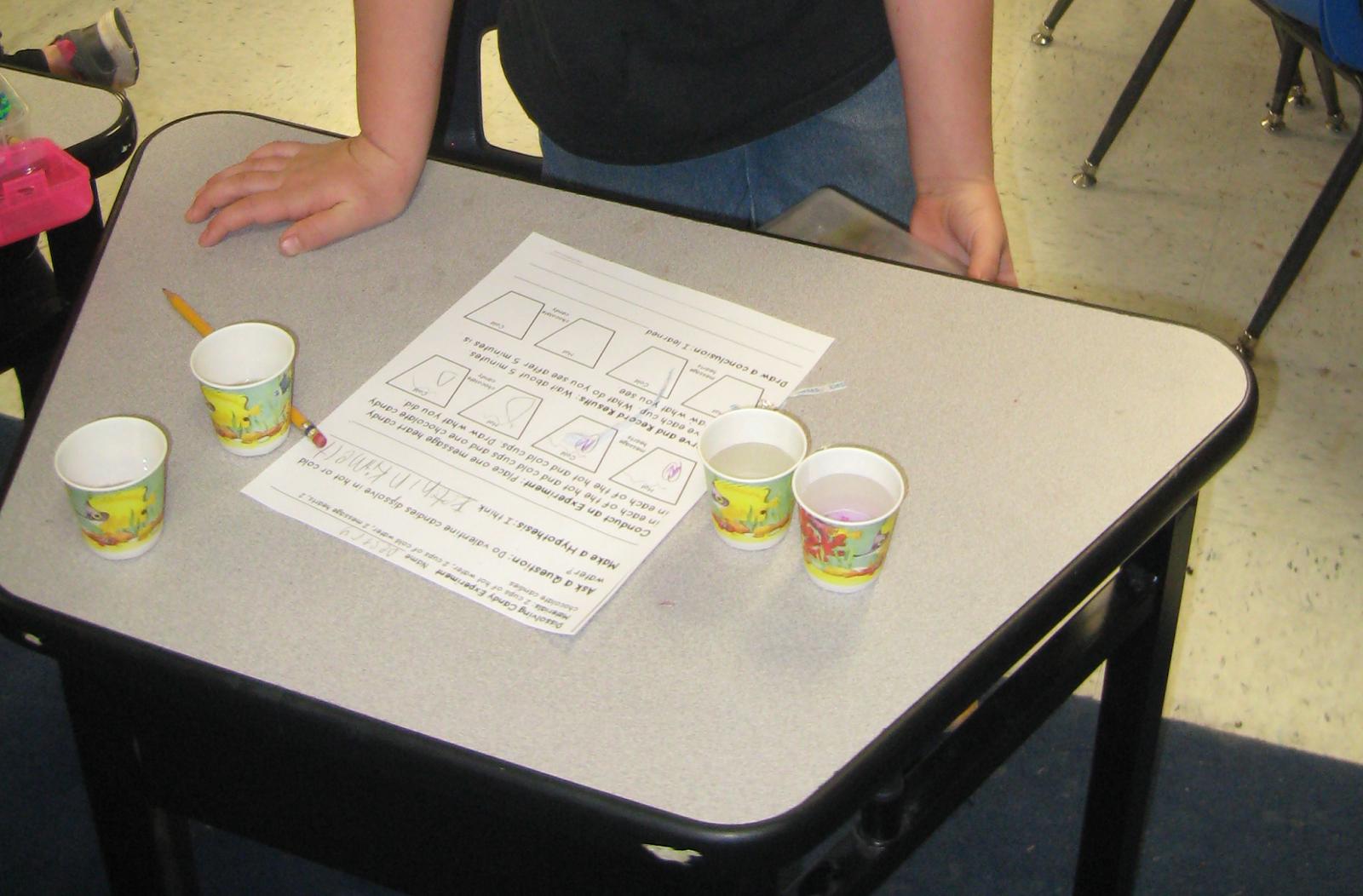 First Grade Shenanigans Valentine Science