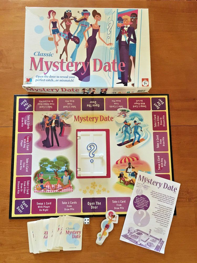 mystery date game 2005