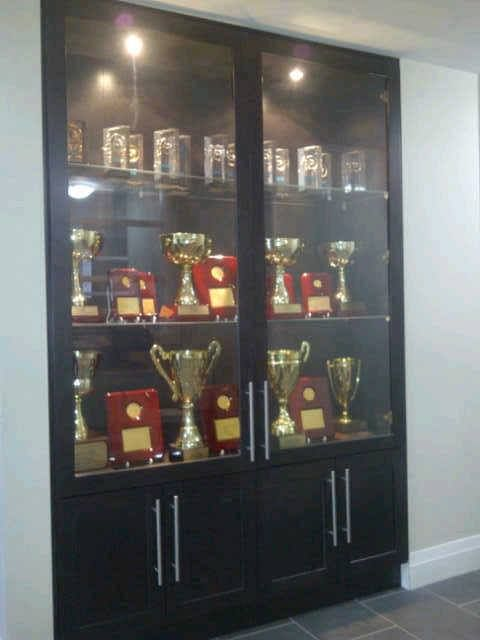 Our Build In Award Cabinet At The Office