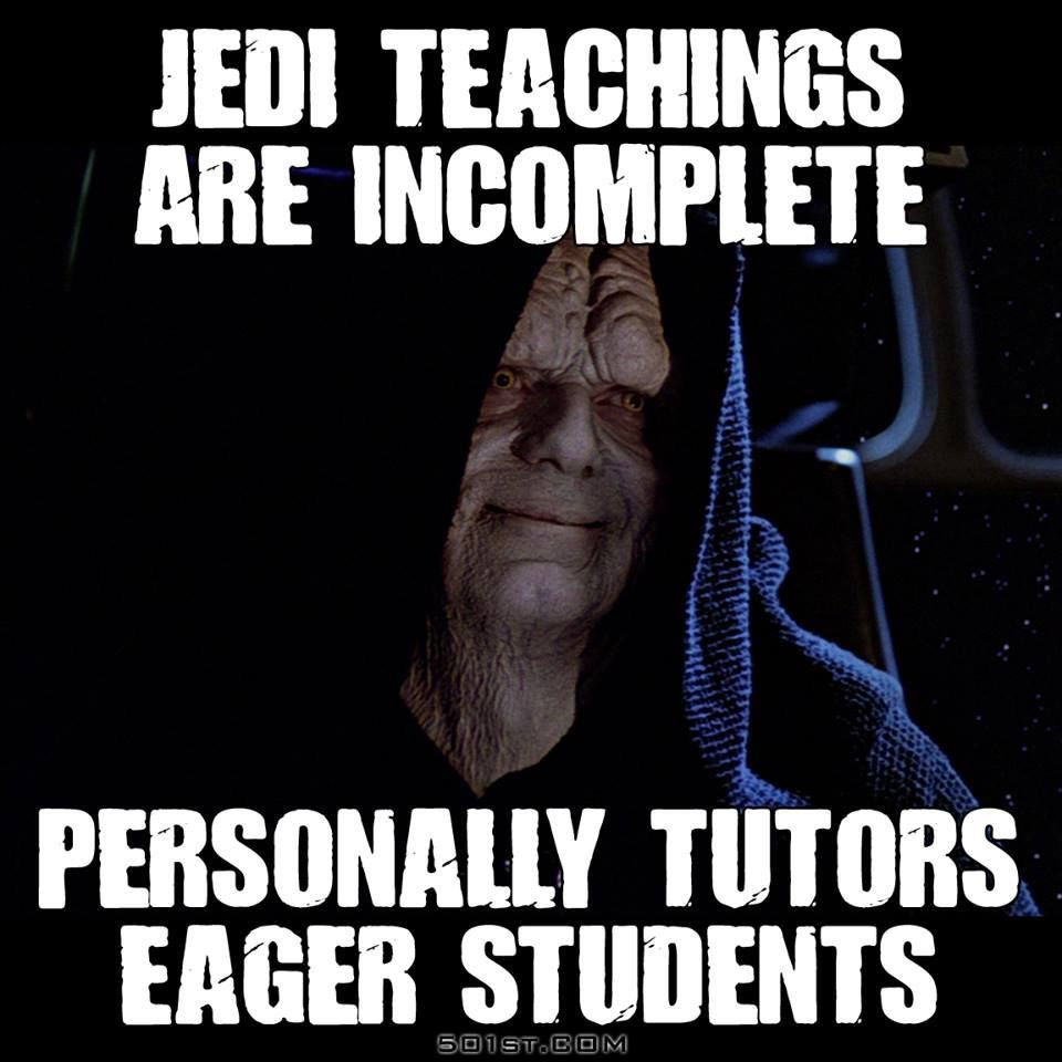 Love it lol Funny star wars memes, Star wars humor, Star