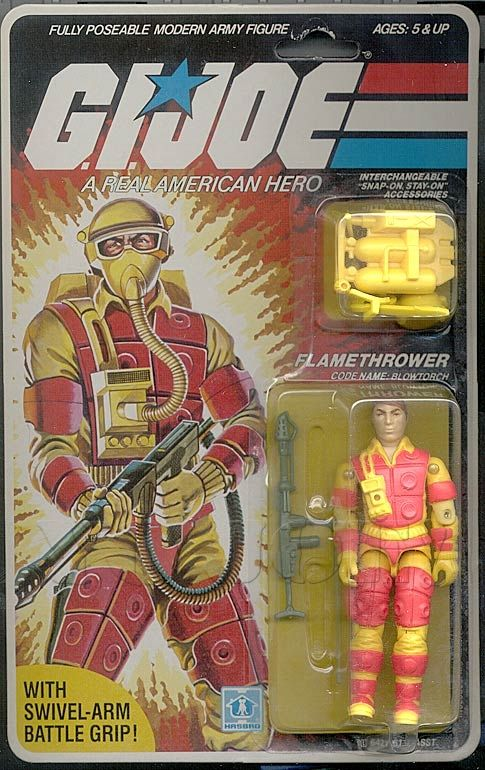 "joe 3.75/"" A Real American Hero Action Figures Vintage années 1980 /& années 1990 Hasbro G.I"