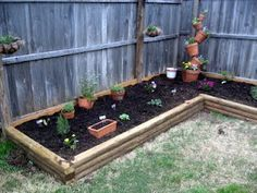 Image Result For Raised Garden Beds Along Fence Line With Images