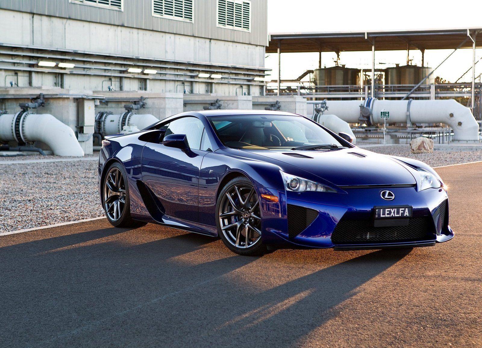 Lexus LFA Lapis Lazuli