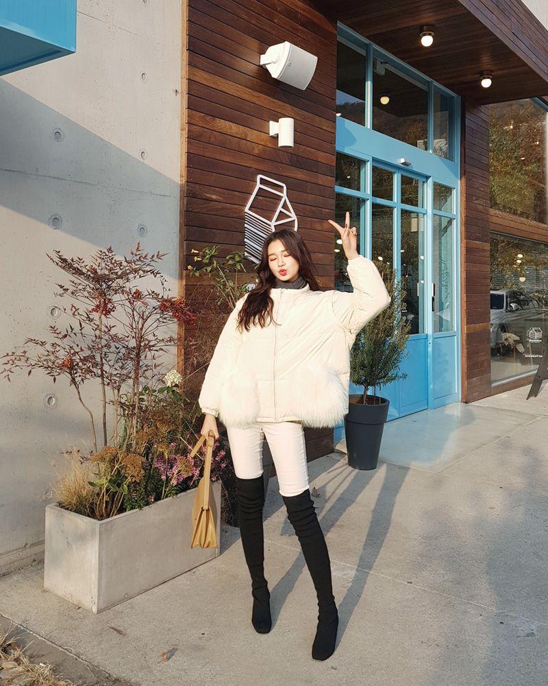Dahong Winter #Eunji style 5  Korean fashion, Korean winter