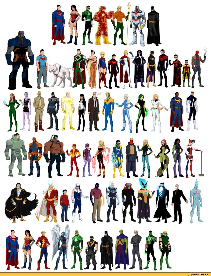 DC Comics DC New 52 superman Batman Aquaman Wonder Woman ...