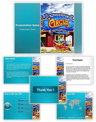 Circus Powerpoint Template Is One Of The Best PowerPoint Templates By EditableTemplates
