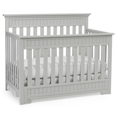 Simple Elegant Features Crib converts to toddler bed day bed and full size bed with headboard or headboard and footboard Fixed side rails 3 Position adjust… Awesome - Simple Elegant toddler bed side rail Top Design