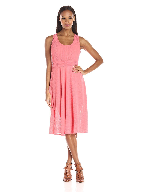 50b6ee39bea Adrianna Papell Women s Scoop Nk Handkerchief Dress   Tried it! Love it!  Click the image.   Women clothing