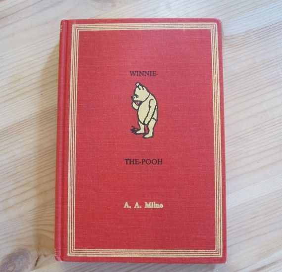 Winnie The Pooh Vintage Book By A Milne Oldendaysbooks