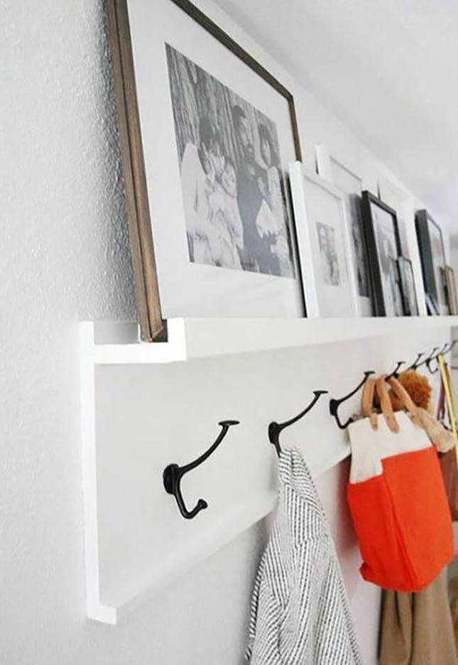 10 Stylish Wall Hooks You Need For All Those Extra Winter Coats Rustic Coat Rack Entryway Coat Hooks Coat Rack Wall