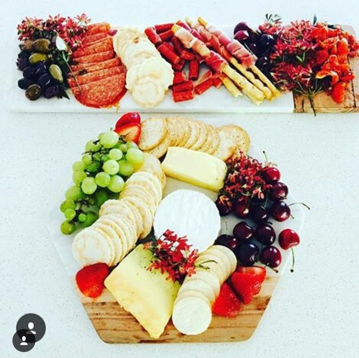 Kmart marble wood chopping boards Platters, Wood