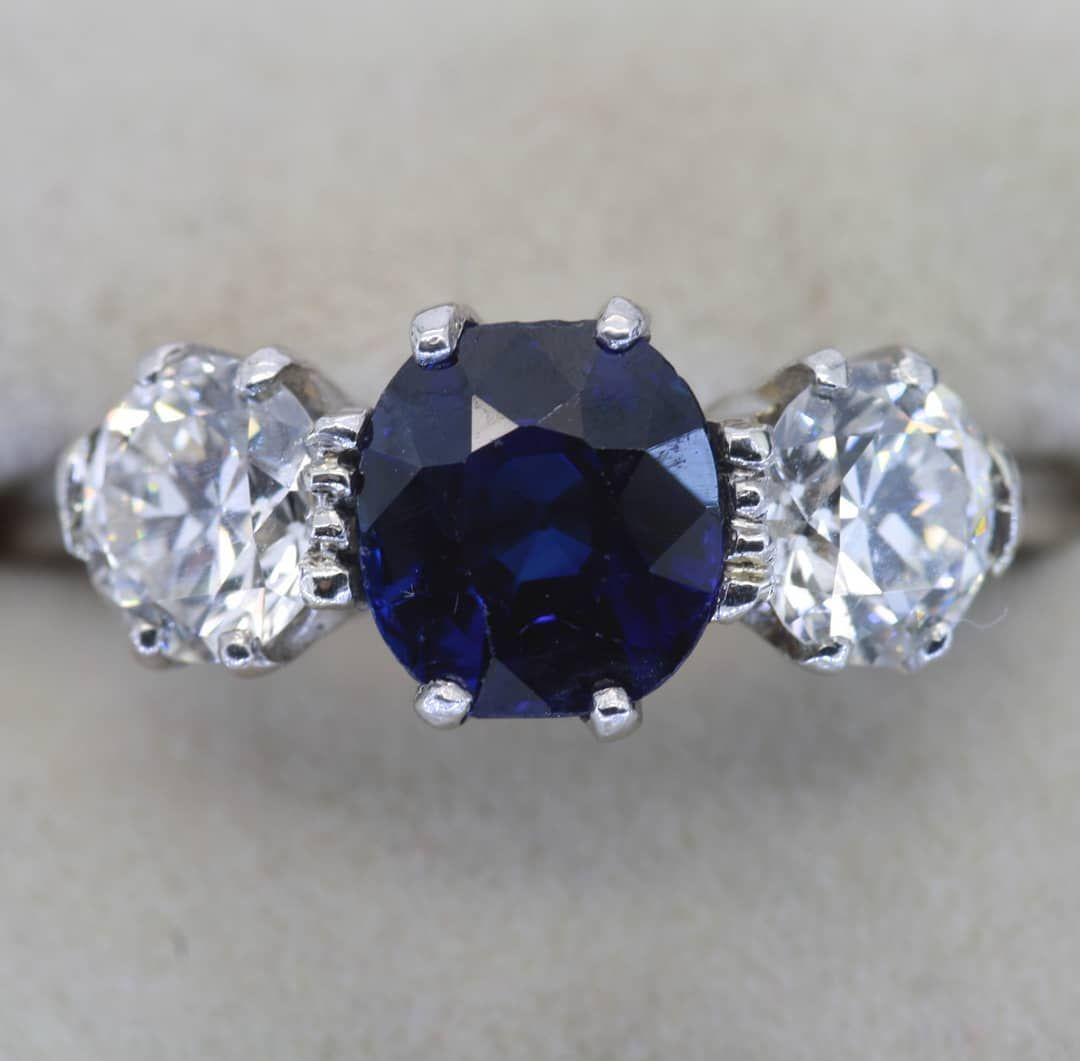 blue sapphire royal gems prestige unheated carat n product