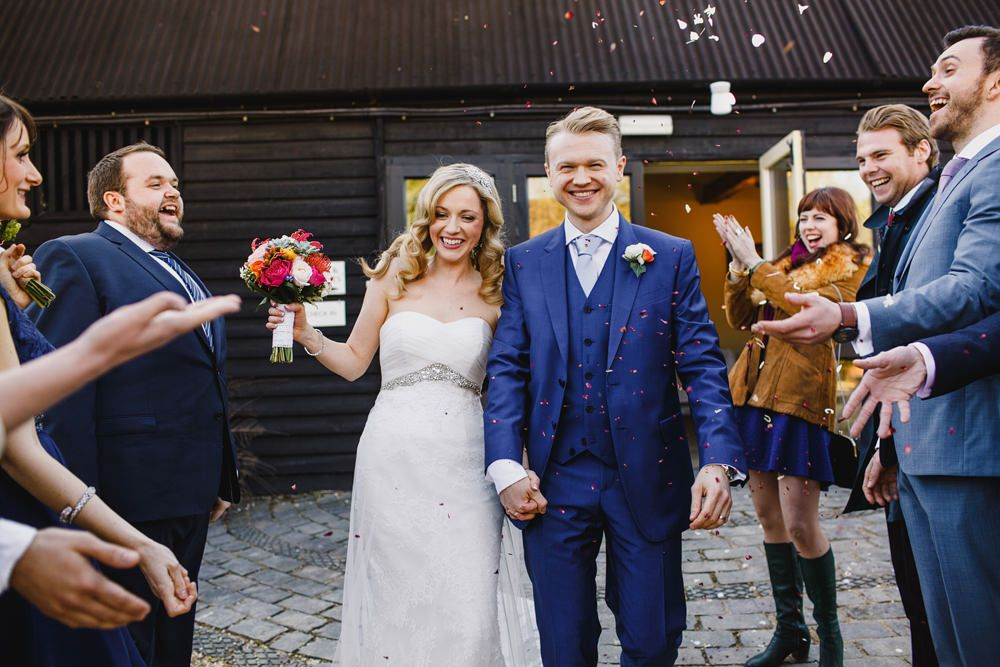 A Rustic Outdoor Spring Barn Wedding