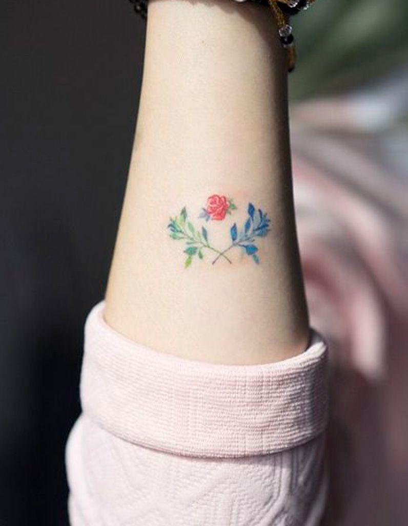 Tatouage Fleur Couleur 20 Tatouages Fleuris Qui Font Envie Elle
