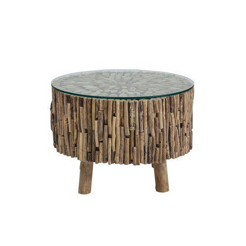 Beachcrest Home Quitaque Coffee Table Simple Coffee Table Table Antique Coffee Tables