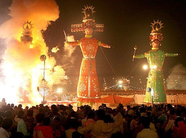 Dussehra is in list in festivals in India   List of festivals in India