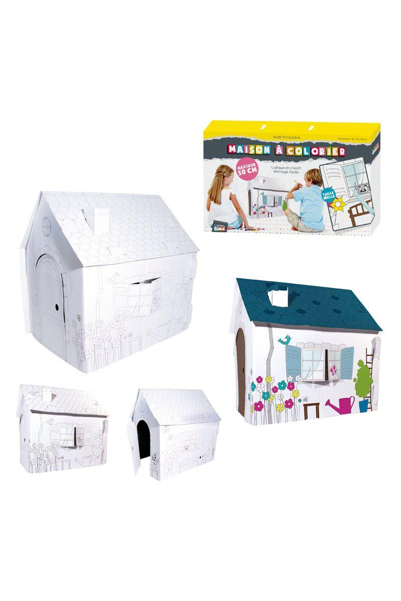 Venda Especial criança / 25055 / Brincar / Casa de pintar 50 x 50 cm