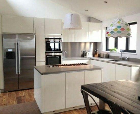 Pin Von Diana Lucka Blazencova Auf Kuchyna In 2019 Offene Kuche Und Wohnzimmer Kuche Planen Und Kleine Kuchen Layouts