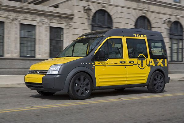 Ford Transit Connect Taxi For New York