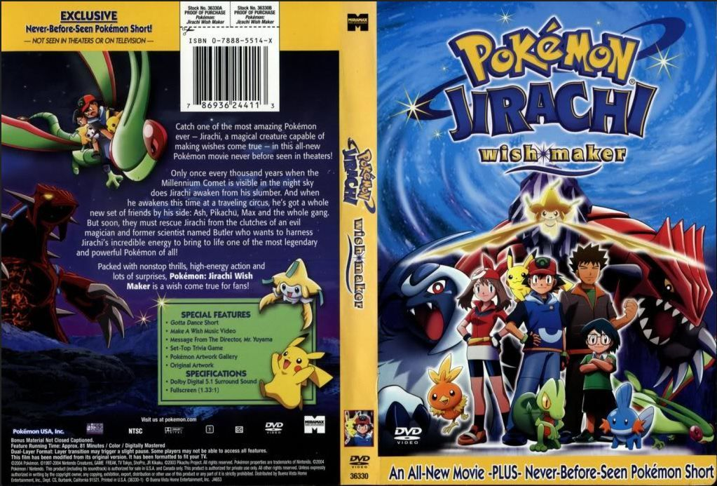 Pin On Pokemon Movies Cover