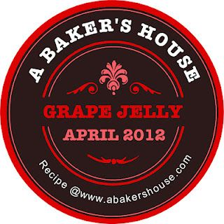 A Baker's House: Make your own Jam Labels