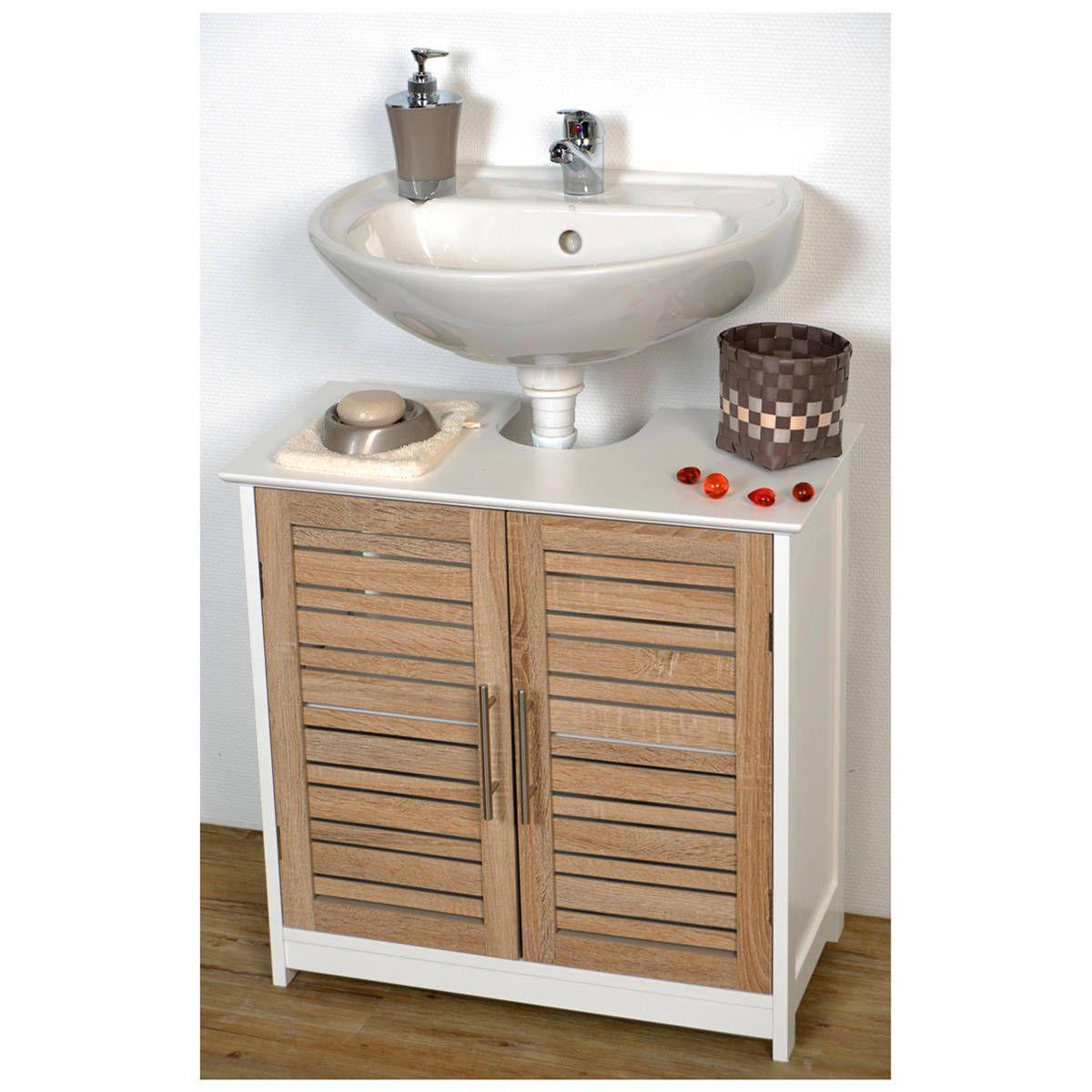 el ment sous lavabo stockholm 60 x p 30 x 60 cm wc pinterest lavabo salle de bain et salle. Black Bedroom Furniture Sets. Home Design Ideas