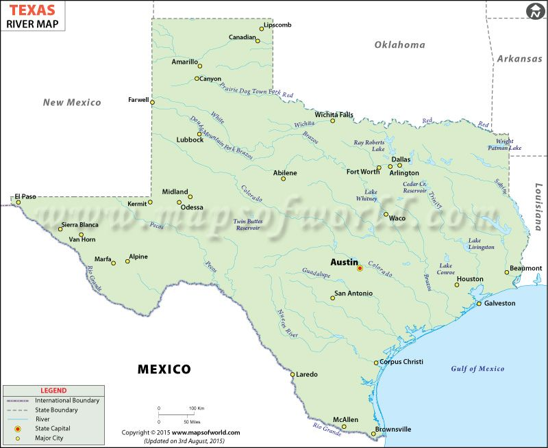 Texas Rivers Map science Pinterest Texas Rivers and Water