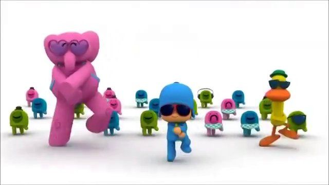 I've seen this little kid show Pocoyo. It's adorably funny