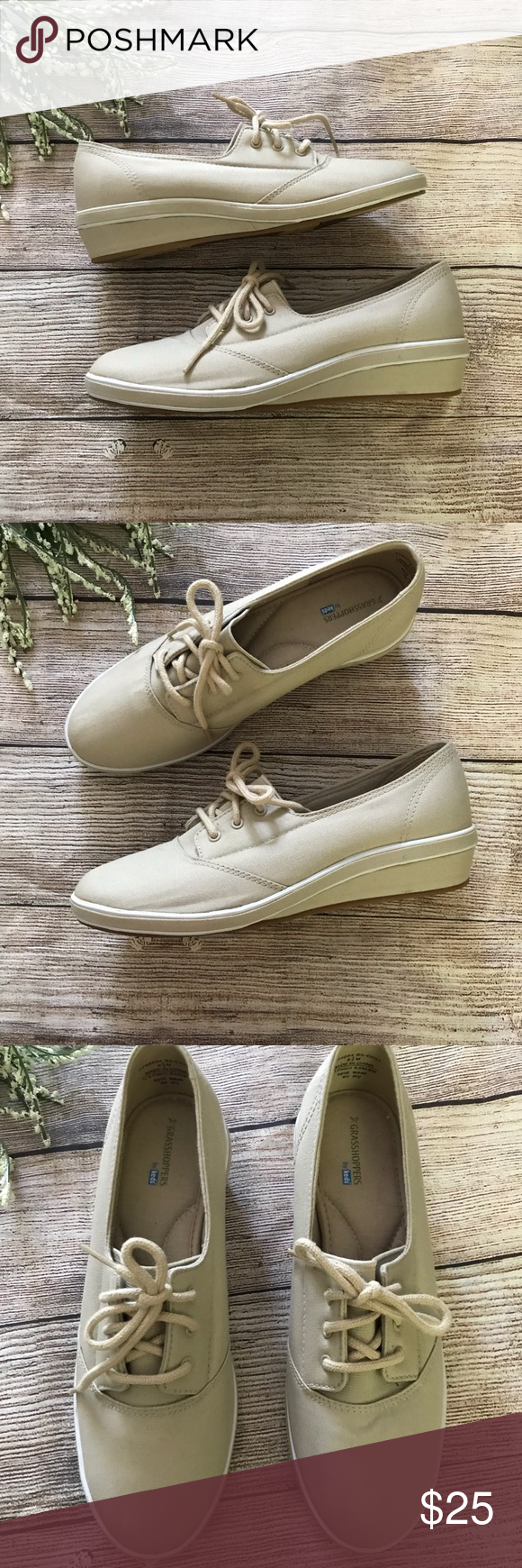 Keds Grasshoppers Low Heel Sneakers