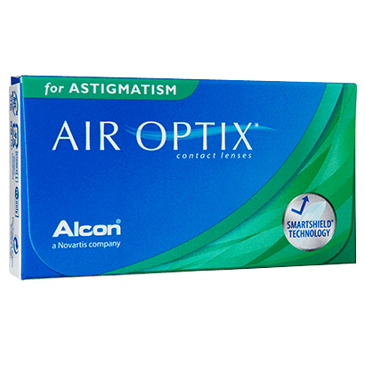 Air Optix For Astigmatism 3 Pcs in 2020 Astigmatism