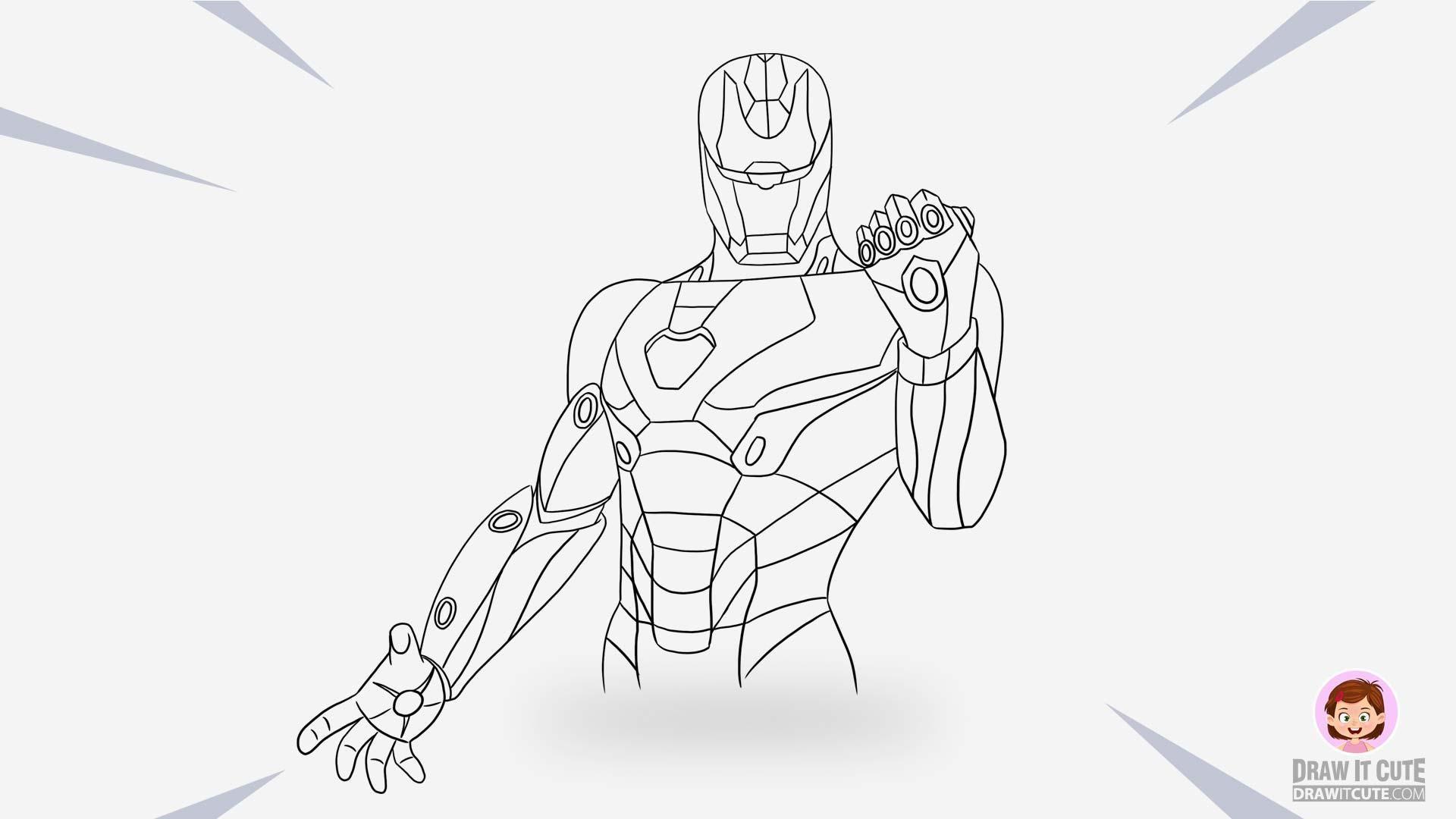 42 Iron Man Symbol Coloring Page Iron Man Symbol Drawing Tutorial Coloring Pages