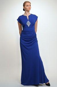 b15652a2f297 Luxusní dlouhé večerní šaty na slavnostní společenské příležitosti. vel. 38