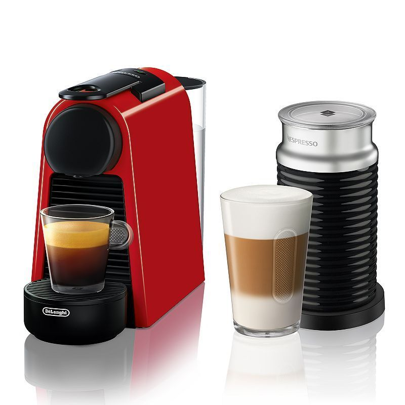 Nespresso Essenza Mini Espresso Machine with Aeroccino3, Black ...