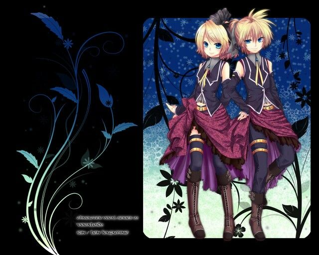 Rin and Len :3