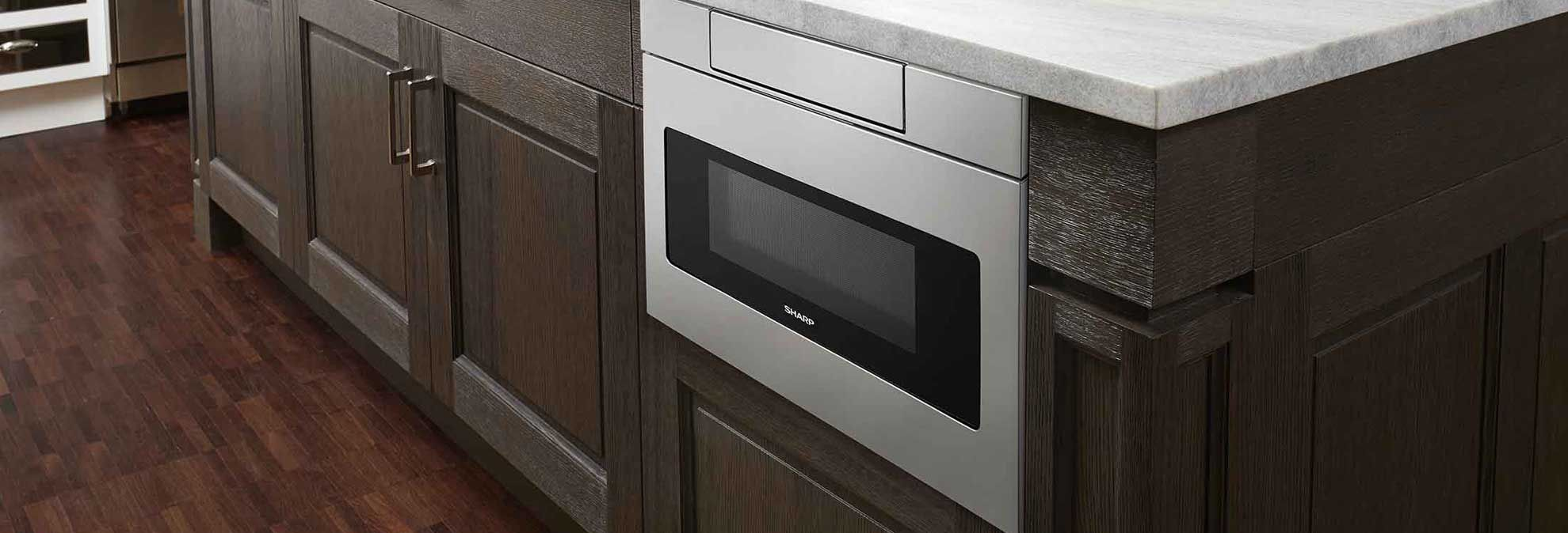 Appliance Drawers That Blend Into Your Kitchen