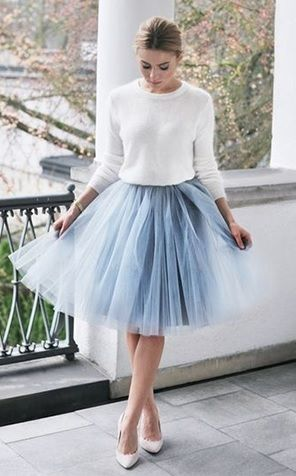 Falda tul   faldas   Pinterest   Tulle skirts, Christmas outfits and ...