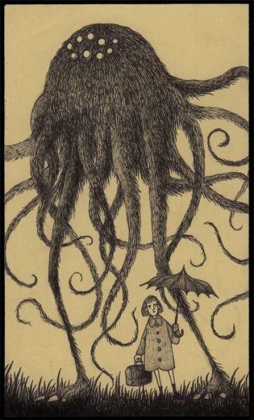 The Creepy Post-it Monsters of Don Kenn (Artist on tumblr)