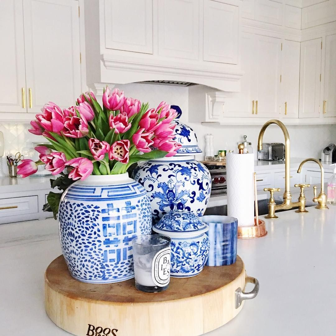 Blue Kitchen Accents: Ushering In Spring Anyway I Can... @liketoknow.it Http