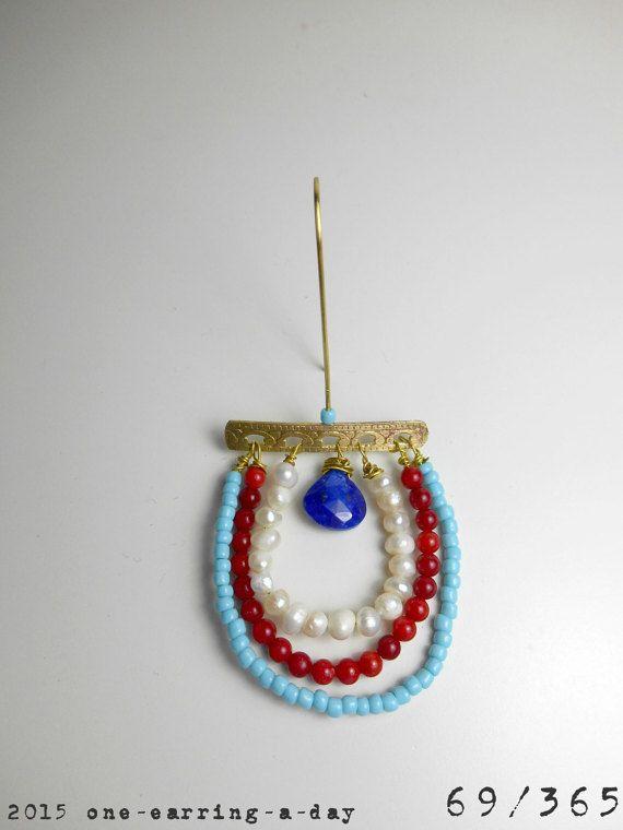 EAD2015 Challenge / Day 69 SINGLE earring by MOVinspiredjewellery