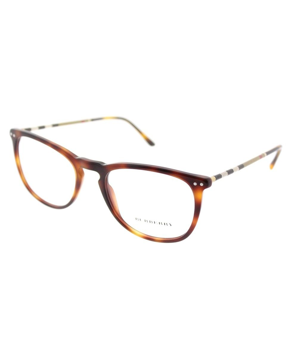 4e7cc7a869e BURBERRY Be 2258q 3316 53mm Light Havana Square Eyeglasses.  burberry