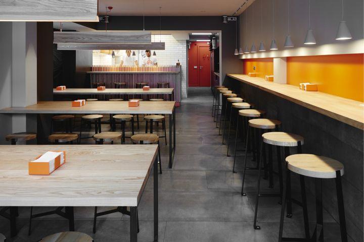 Pizza Workshop Restaurant Interior & Branding by Moon Design + ...