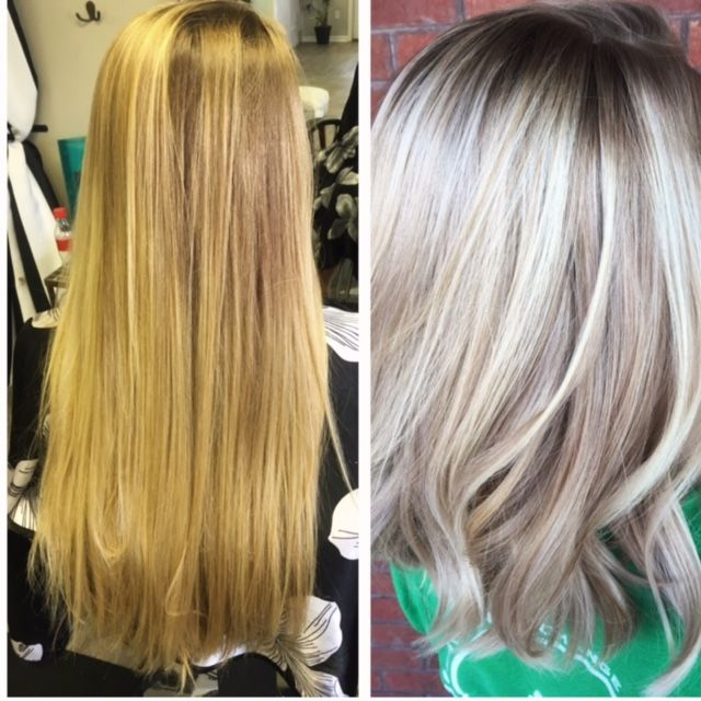 Makeover 3 Steps To An Icy Blonde Icy Blonde Hair Icy Blonde
