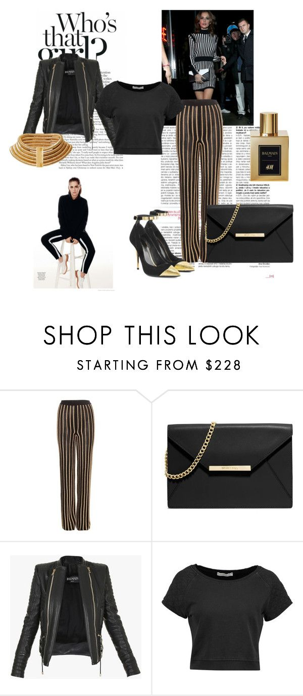 """Balmain"" by little-blackdress ❤ liked on Polyvore featuring Balmain, MICHAEL Michael Kors, Pierre Balmain, women's clothing, women, female, woman, misses and juniors"